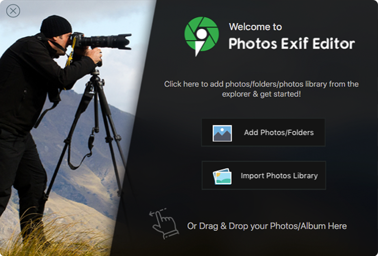 photo-exif-editor-start-screen