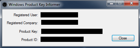 Product Key Informer