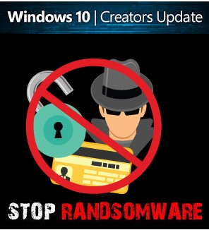 Ransomware windows 10 creator update