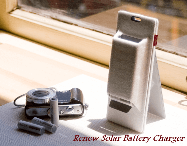 Renew Solar Battery Charger