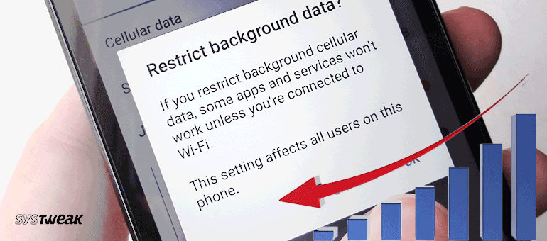 How to Restrict Background Data Usage in Android