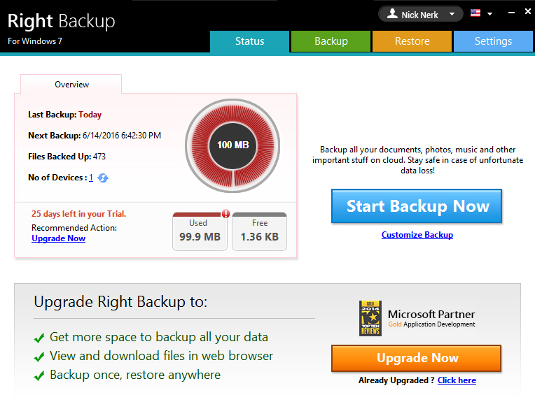 Right Backup secure data aganist ransomware