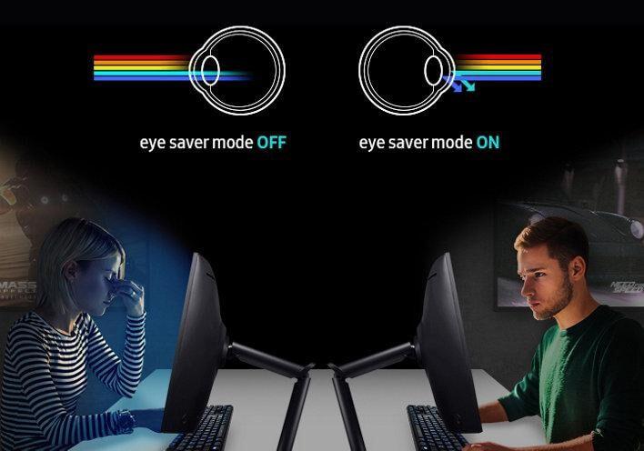 Samsung Eye Saver Mode