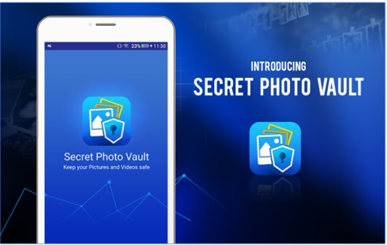 App to hide private photos