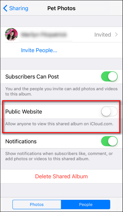 Share your iCloud Photos with Android Users