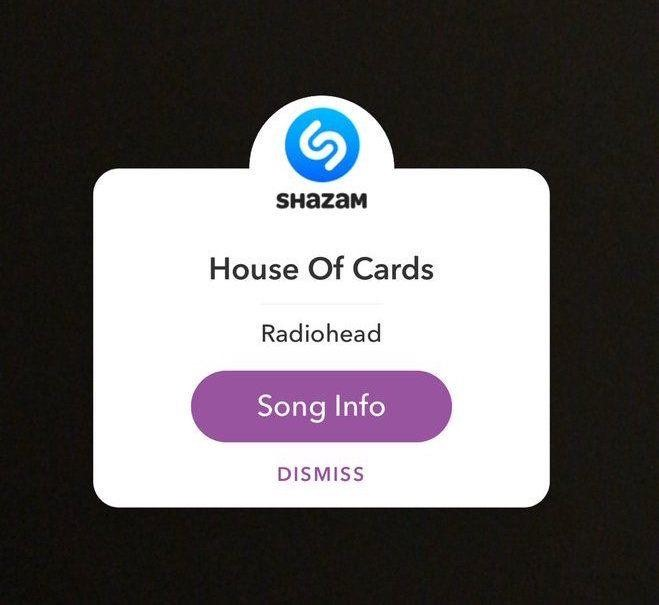 Shazam a Song Within Snapchat