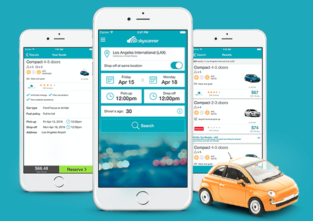 10 best car rental apps for iphone