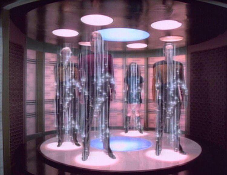 Star Trek's Transportation deck