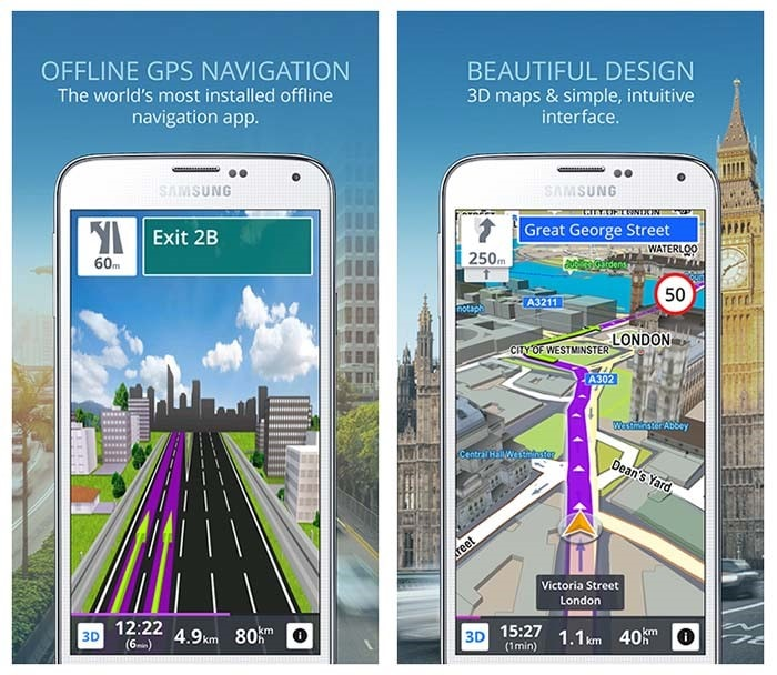 Sygic - GPS Navigation Maps-min