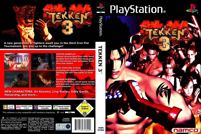 tekken 3 best ps1 games