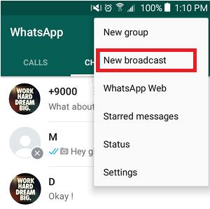 Use New Broadcast