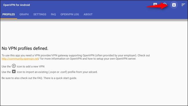 VPN profile
