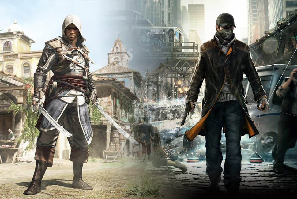 Watchdogs Assasin's Creed
