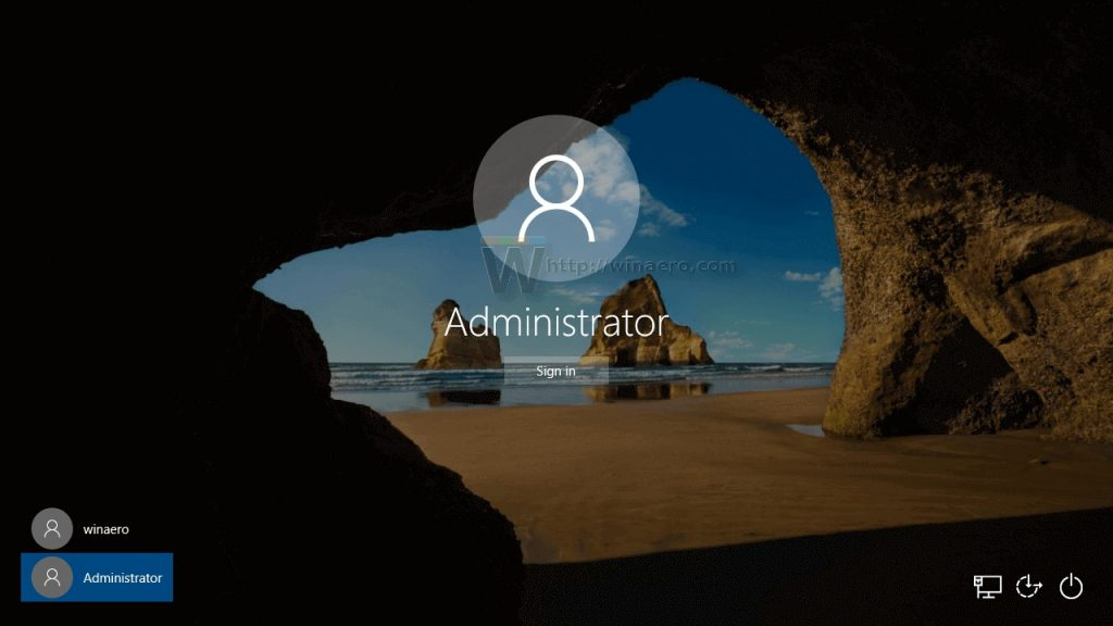 Windows administrator