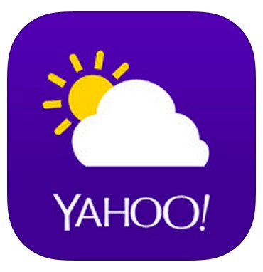 Yahoo Weather- best weather app 2017