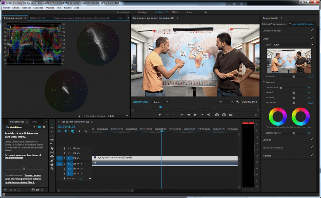 adobe preimier- windows video editor