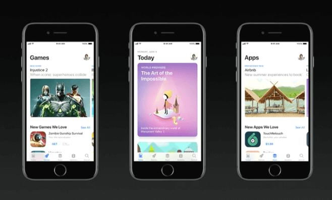 app store redesign