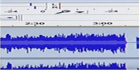 audacity blue wave