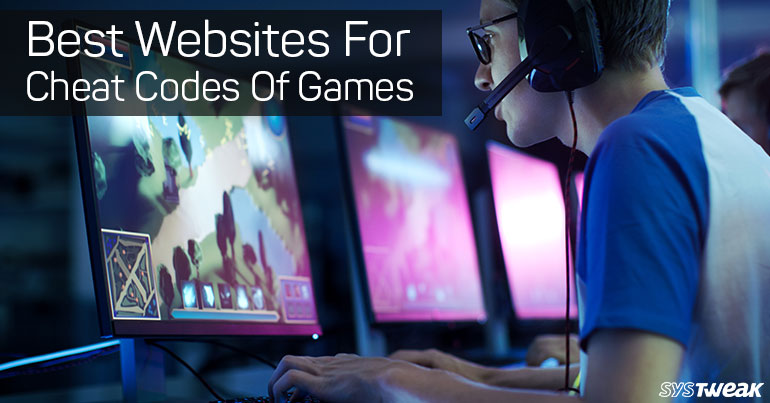 5 Best Websites For Game Cheat Codes