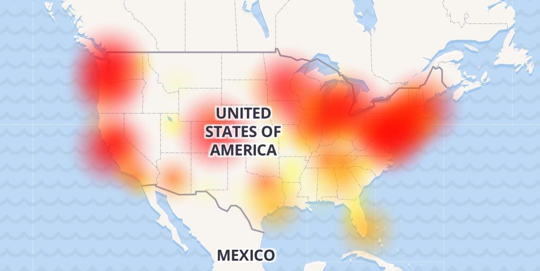 comcast down internet
