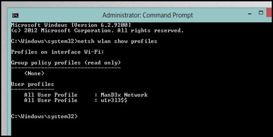 command change