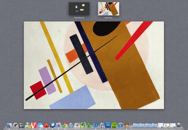 create a new desktop