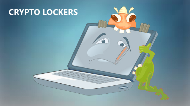 cryptolocker attack on PC