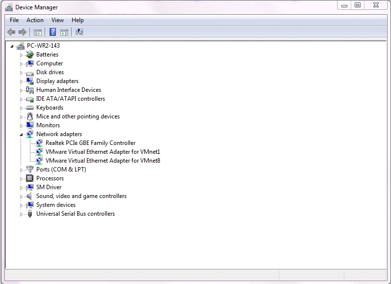 device manager setting in windows for wake on lan