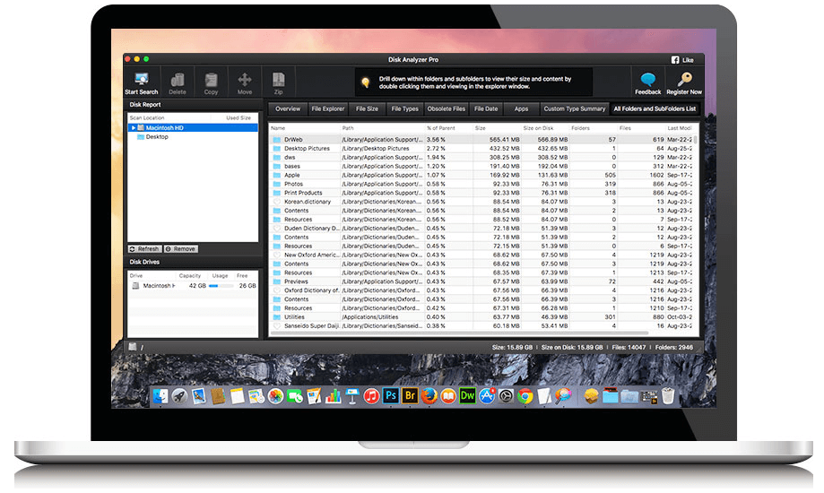 disk analyzer pro disk space analyzer for mac