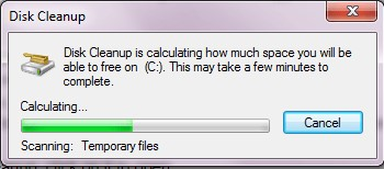 disk cleanup files