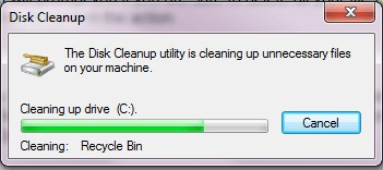 disk cleanup c drive