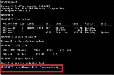 disk part cmd use
