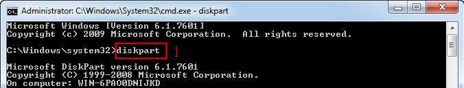 diskpart cmd