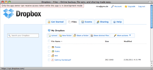 dropbox-Cloud Storage Tools for Big Data