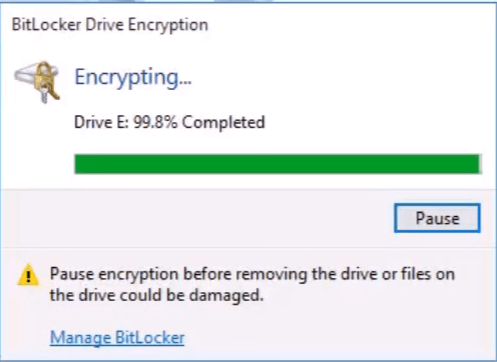 encrypt pendrive