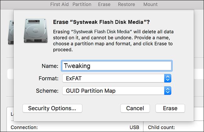 flash media disk
