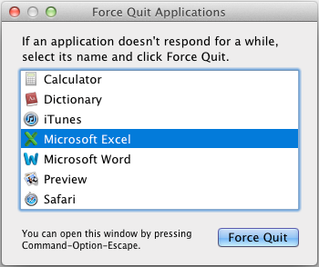 force-quit-mircosoft outlook -in-mac