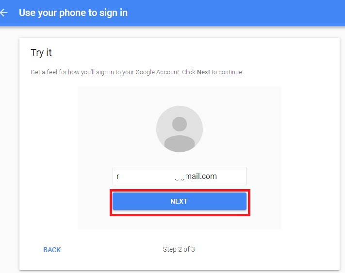 gmail continue