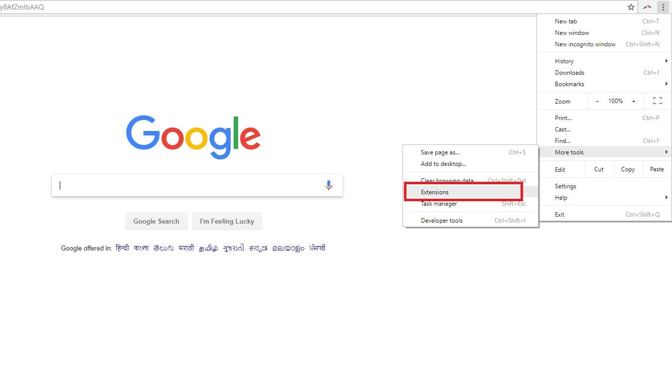 google extensions
