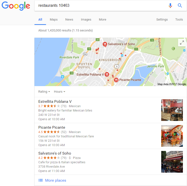 google-tips-location-base-searching