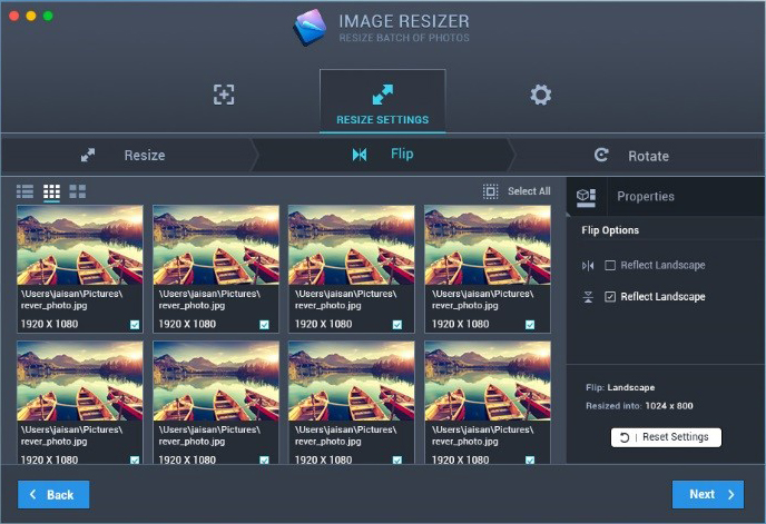 how to resize image on mac