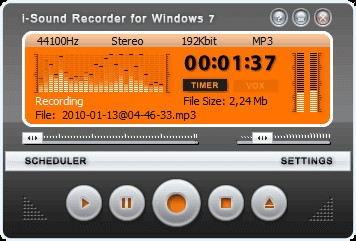 i sound recorder