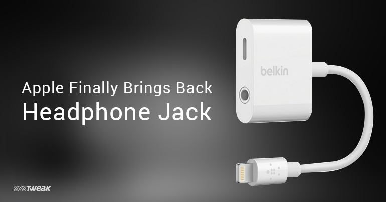 Apple Finally Brings Back iPhone Jack – Apple and Belkin Join Hands