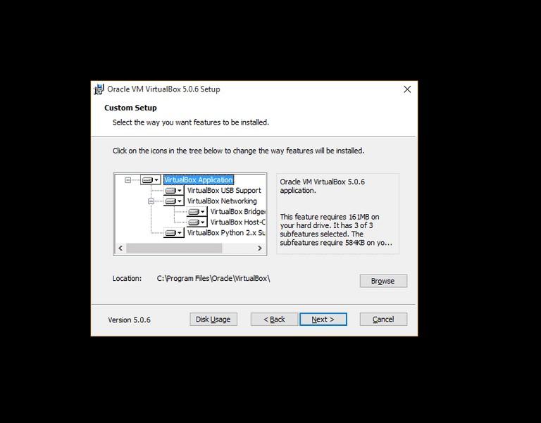 install virtualbox