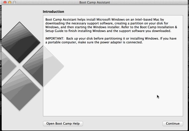 install windows on mac