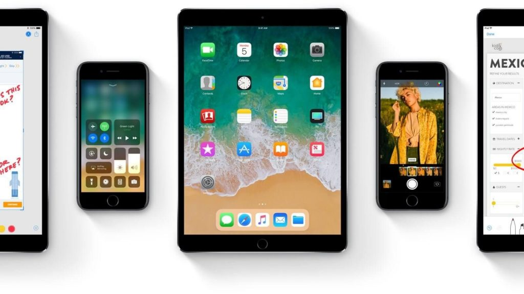 ios 11 for ipad and iphone