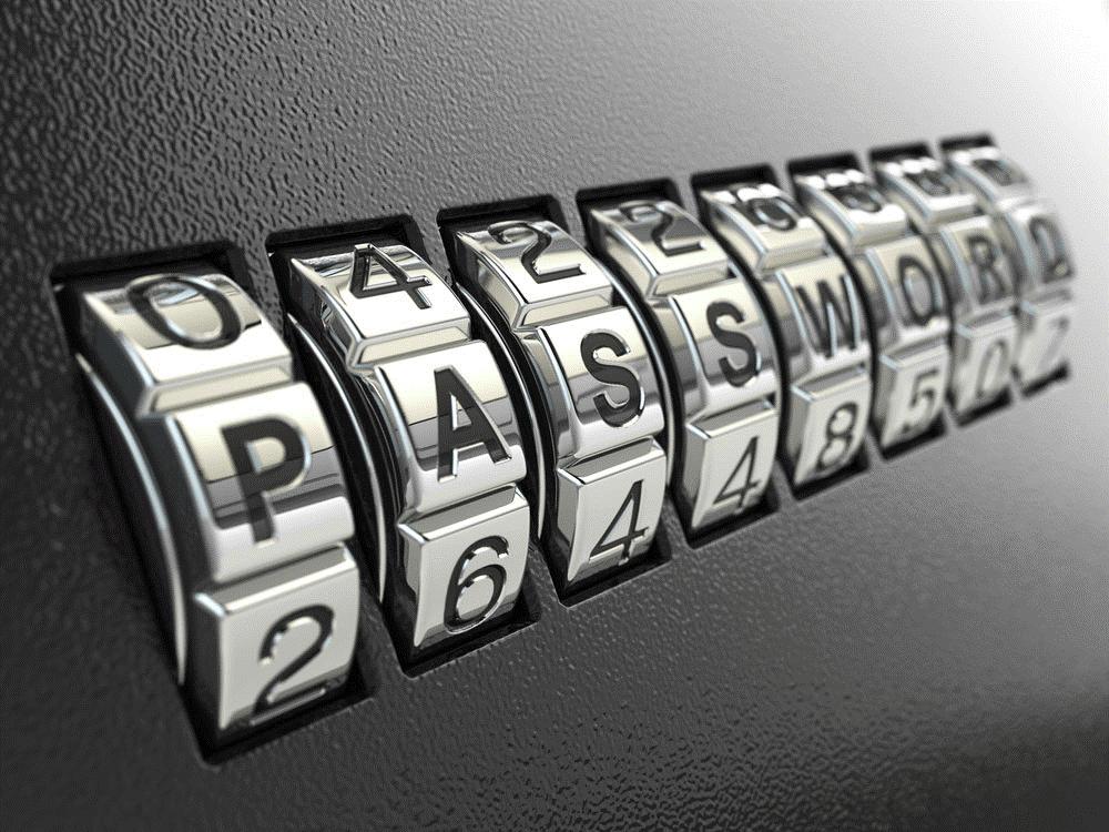 keep strong password