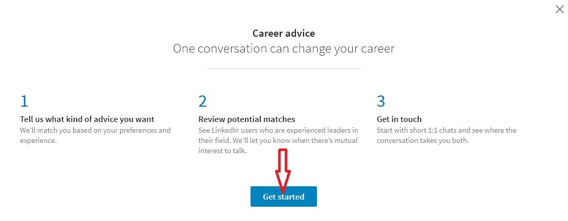 linkedin career advice hub