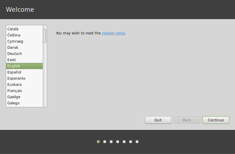 linux mint installation