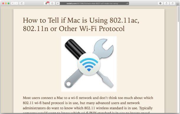 mac read